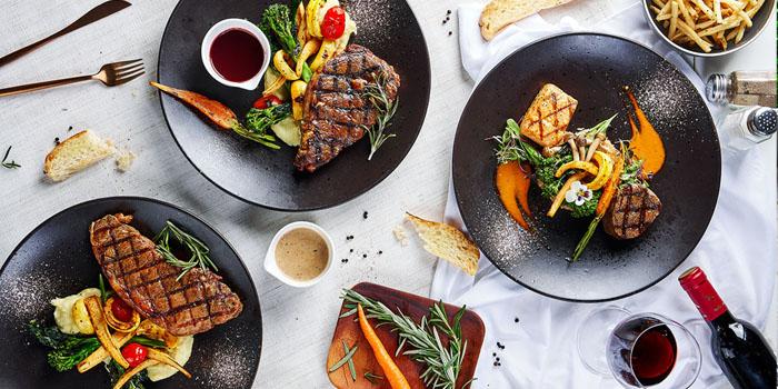 Beef Steak of Element Fresh (Kwah Center) Located in Xuhui, Shanghai