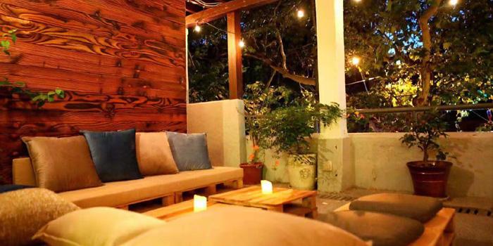 Indoor of Chez JOJO located in Xuhui, Shanghai