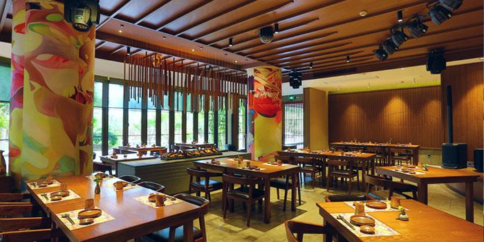 Indoor of Yakushima (Oyado Hotel) located in Putuo, Shanghai