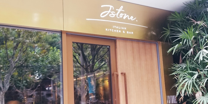 Outdoor of Jstone. Italian Kitchen & Bar (Shimao Tower) located in Pudong, Shanghai