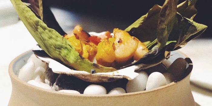 Appetizer of Azabu Dining located in Huangpu, Shanghai