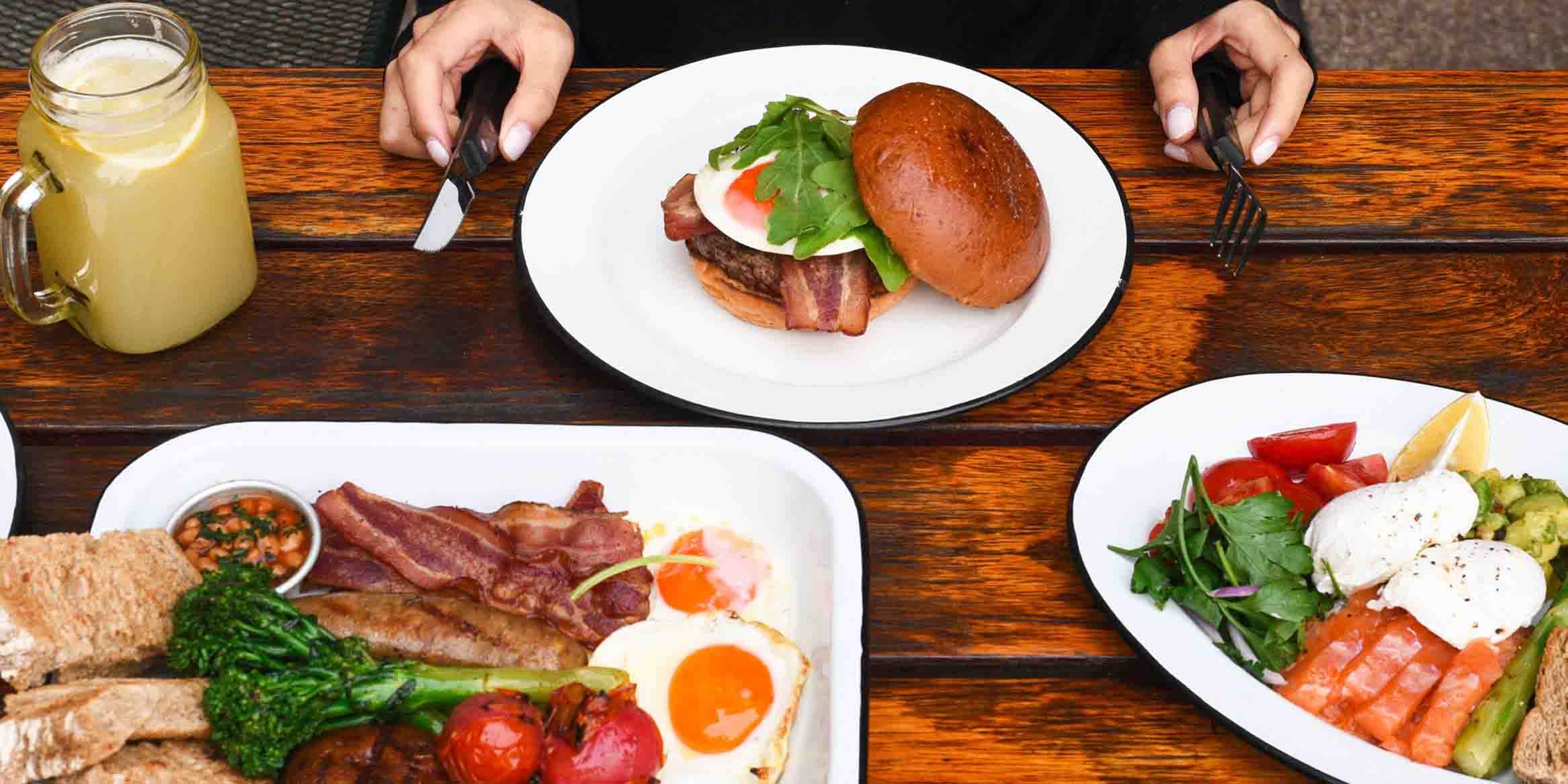 Brunch of Beef & Liberty (Kerry Parkside) located in Pudong, Shanghai