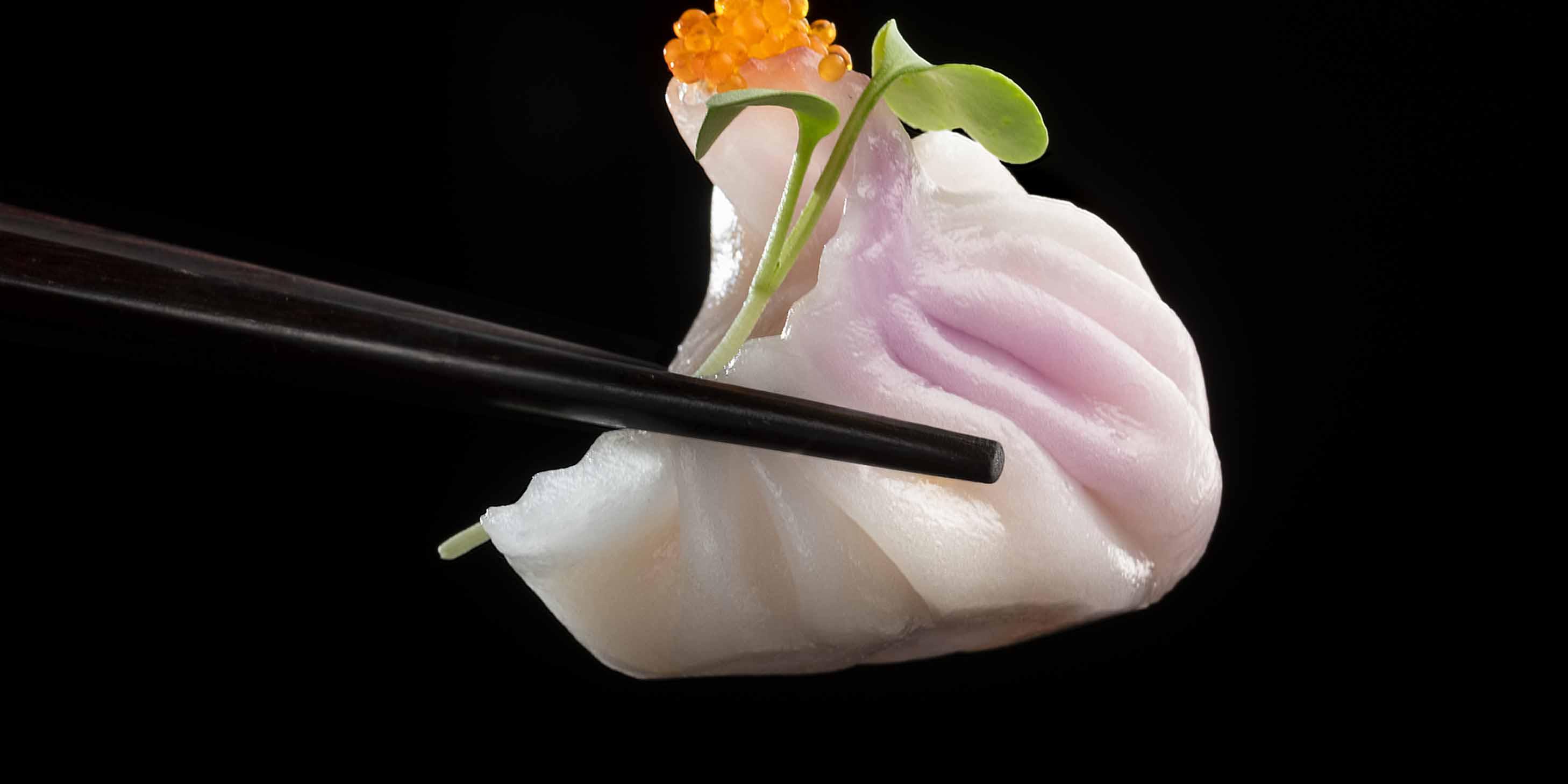 Dumpling of Hakkasan located on the bund