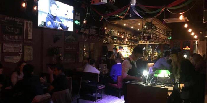 Indoor of Bar Gatsby located in Huangpu, Shanghai