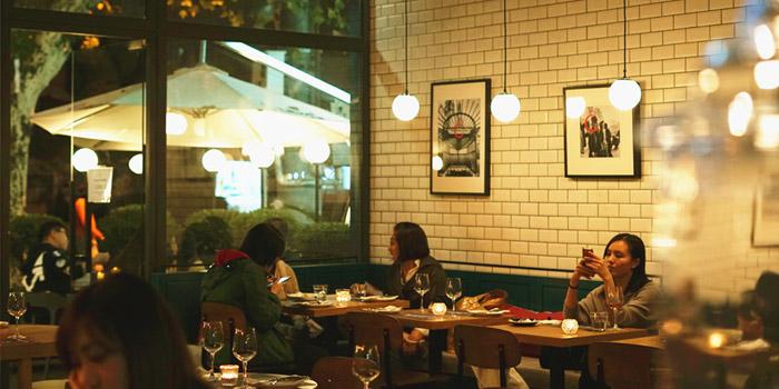 Indoor of Odelice! (Xinle Lu) located in Xuhui, Shanghai