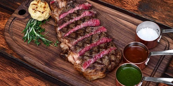 Beef Sirloin of Beef & Liberty (Kerry Parkside) located in Pudong, Shanghai