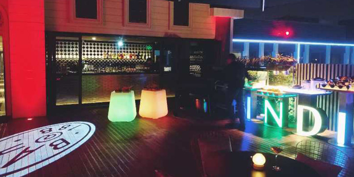 Environment of 188@Bar (Hotel Indigo Shanghai Hongqiao) located in Minhang, Shanghai
