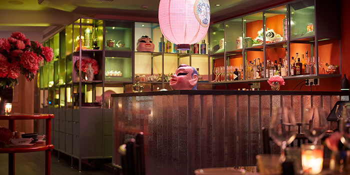 Bar Counter of Dao Jiang Hu located in Changning, Shanghai