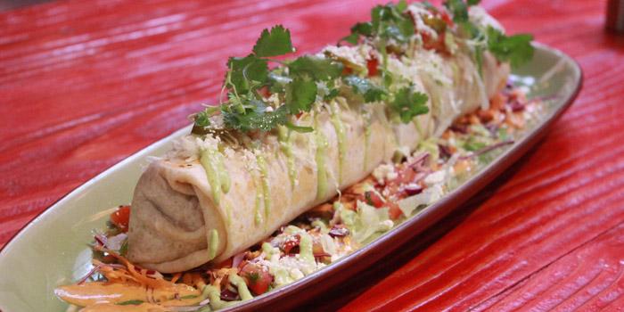 Burrito of Pistolera Mexican Cantina (Nanyang Lu) located in Jing