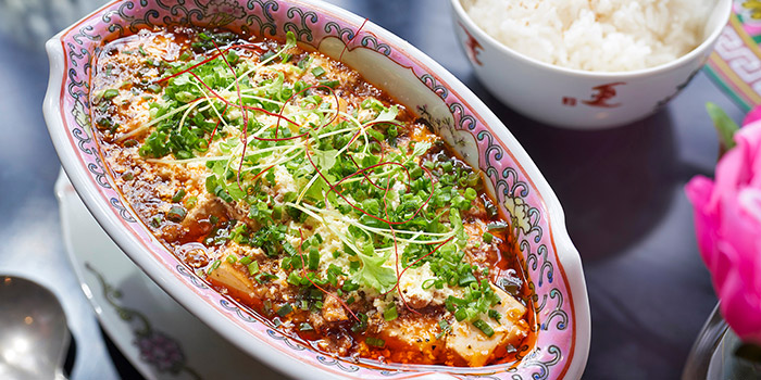 Mapo Tofu from Dao Jiang Hu located in Changning, Shanghai