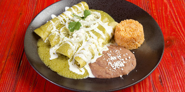 Enchiladas of Pistolera Mexican Cantina (Nanyang Lu) located in Jing