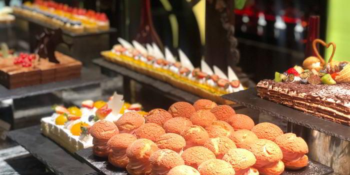 Dessert of VENU Restaurant (Pullman Shanghai Jing An) located in Jing