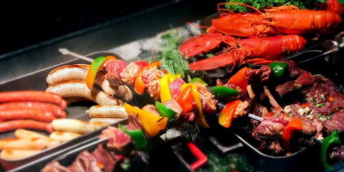 BBQ of VENU Restaurant (Pullman Shanghai Jing An) located in Jing