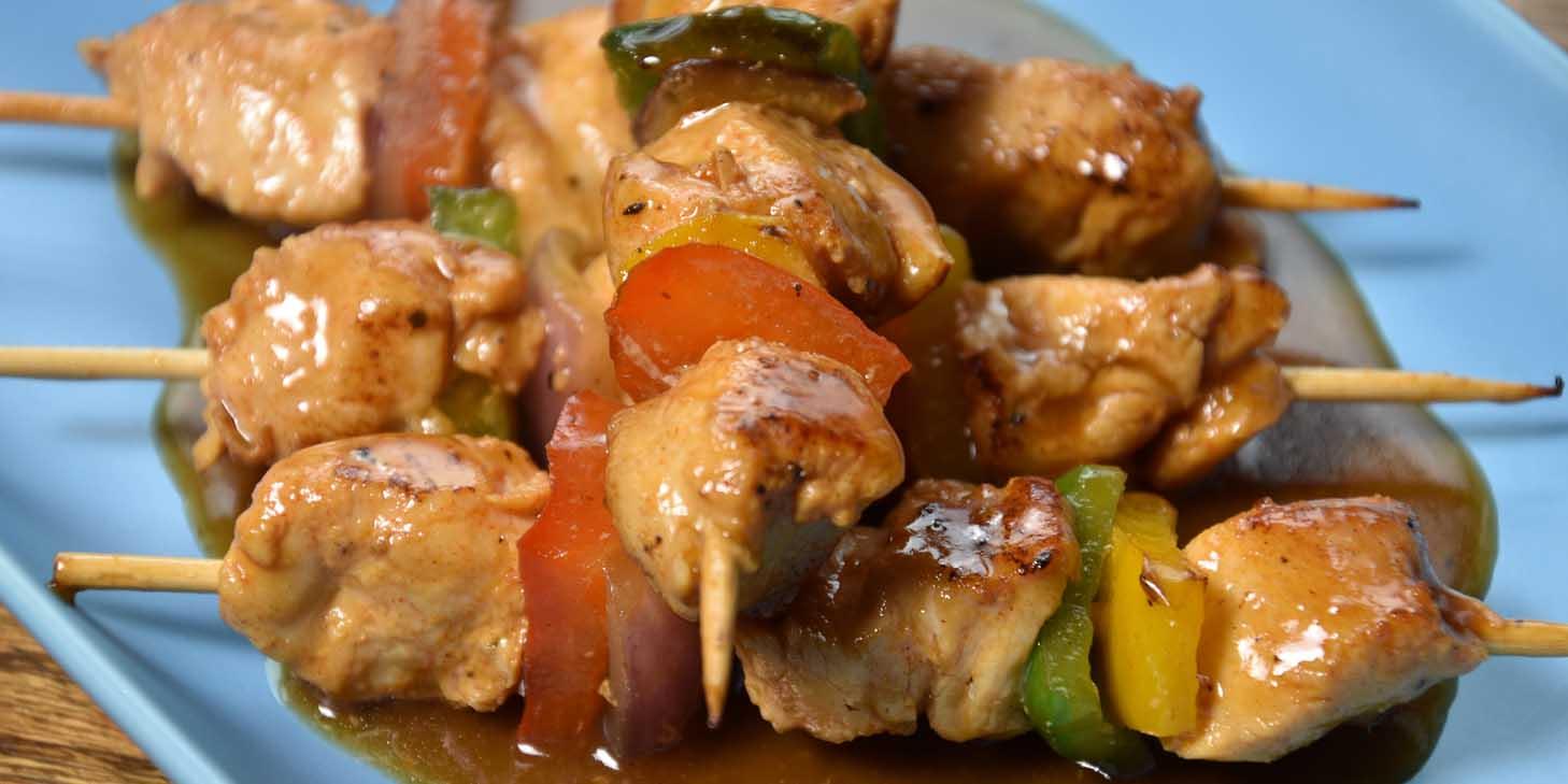 Chicken Skewer of El Bodegon (Changshu Lu) located in Jing