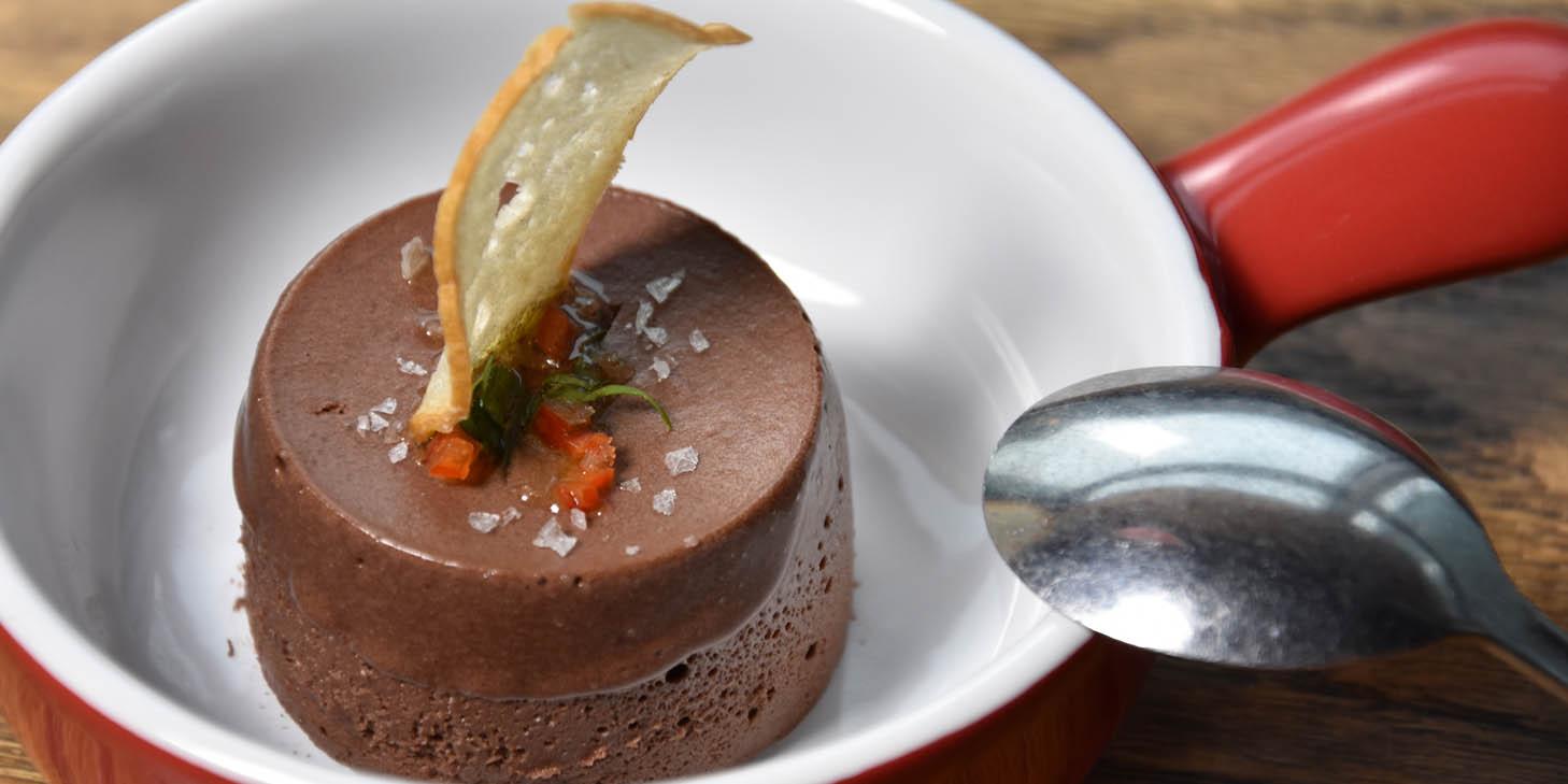 Chocolate Mousse of El Bodegon (Changshu Lu) located in Jing