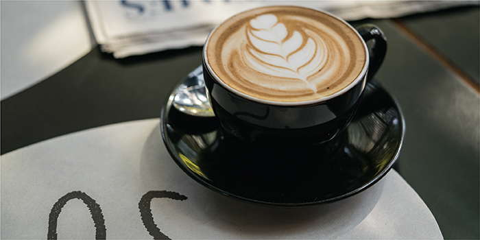 Coffee of PS.Cafe Xintiandi, located in Huangpu, Shanghai