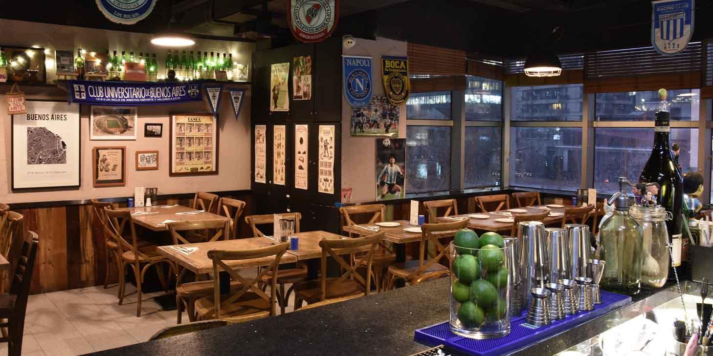 Indoor of El Bodegon (Changshu Lu) located in Jing