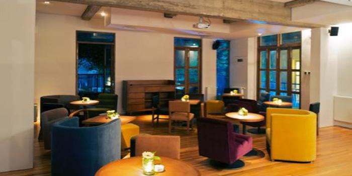 Indoor of Café Sambal located in Xuhui, Shanghai