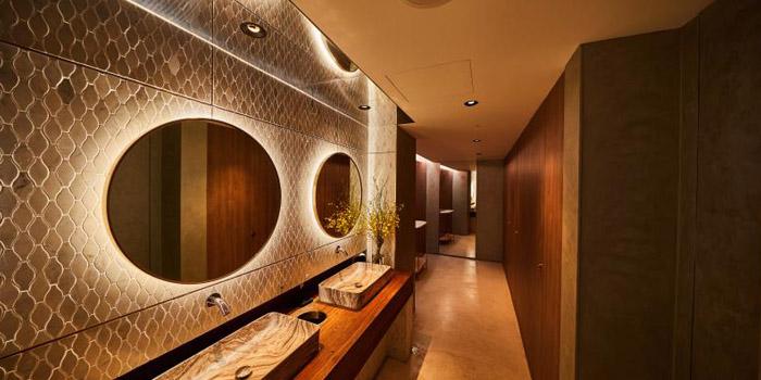 Indoor of FOGO Rooftop Bar & Restaurant located in Huangpu, Shanghai