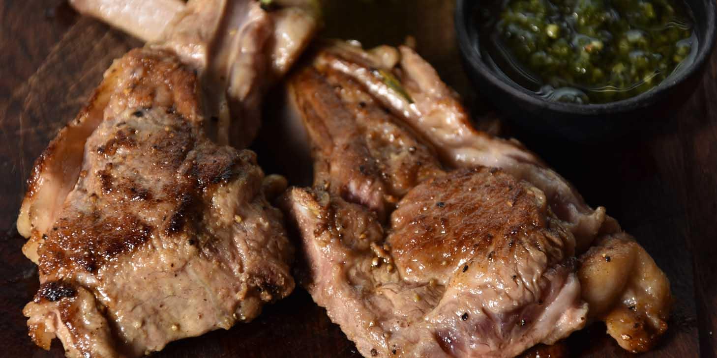 Lamb Chop of El Bodegon (Changshu Lu) located in Jing