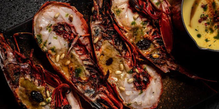 Lobster of FOGO Rooftop Bar & Restaurant located in Huangpu, Shanghai
