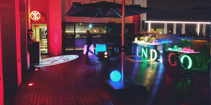Outdoor of 188@Bar (Hotel Indigo Shanghai Hongqiao) located in Minhang, Shanghai