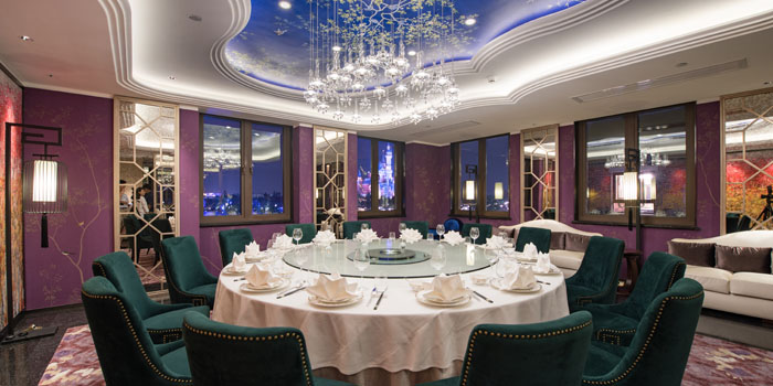 Private Room of Crystal Jade Restaurant (Disneyland) located in Pudong, Shanghai