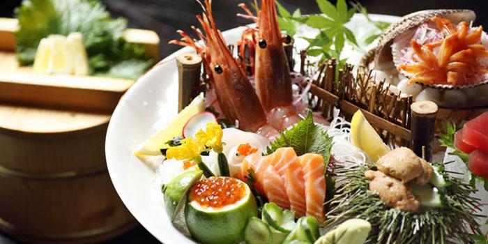 Seafood of Shintori located Jing
