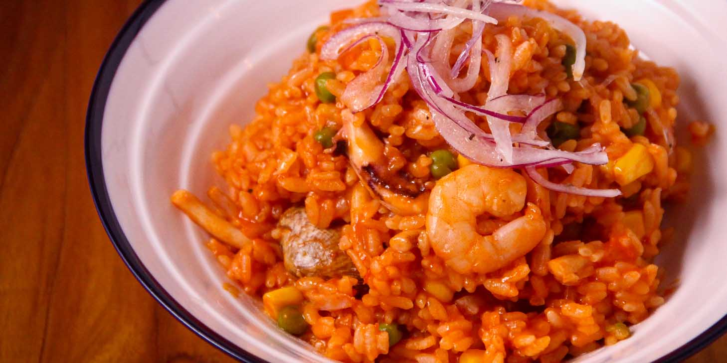 Seafood Rice of El Bodegon (Panyu Lu) located in Changning, Shanghai