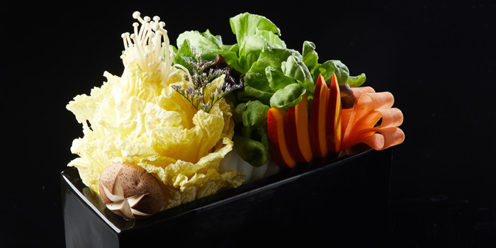 Vegetable of Lost Heaven Hot Pot located in Jing