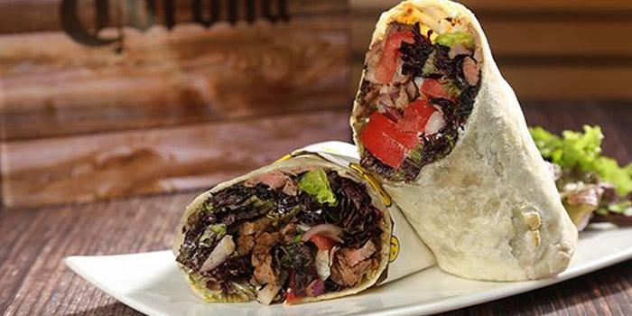 Wrap of Pera Turkish Restaurant & Bar located on Julu Lu, Huangpu District, Shanghai, China