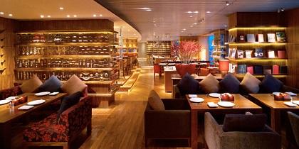 Interior of VUE Restaurant in The Bund, Shanghai