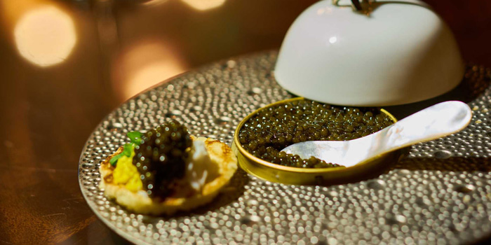 Appetizer of Long Bar (Waldorf Astoria Shanghai on the Bund) located in Huangpu, Shanghai