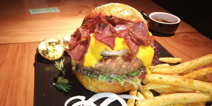 Burger of Pasha Turkish Restaurant in Huangpu, Shanghai