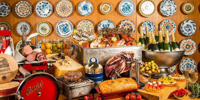 Food of VUE Restaurant in The Bund, Shanghai