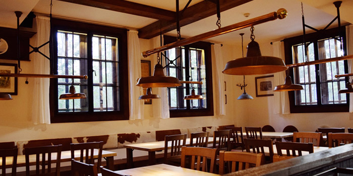 Indoor of Paulaner @ Raffles City Changning located in Changning, Shanghai
