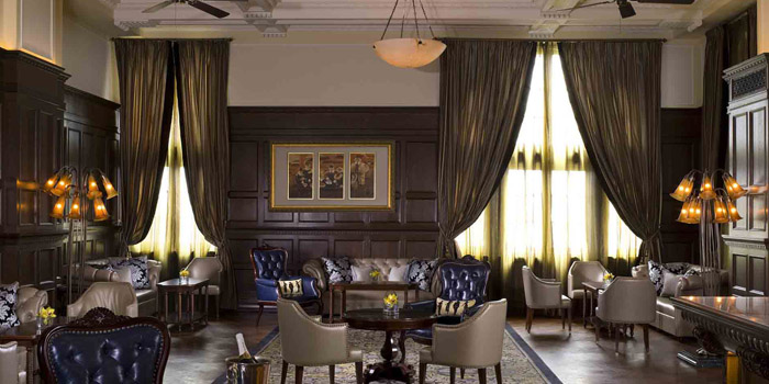 Indoor of Long Bar (Waldorf Astoria Shanghai on the Bund) located in Huangpu, Shanghai
