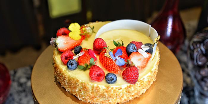 Cake of VENU Restaurant (Pullman Shanghai Jing An) located in Jing