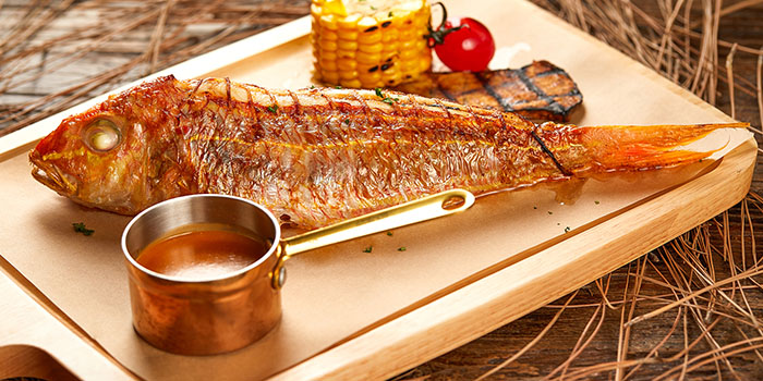 Fish of Meuhst French Grill & Wine located in Pudong, Shanghai