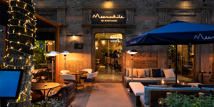 Outdoor of Meanwhile located in Huangpu, Shanghai