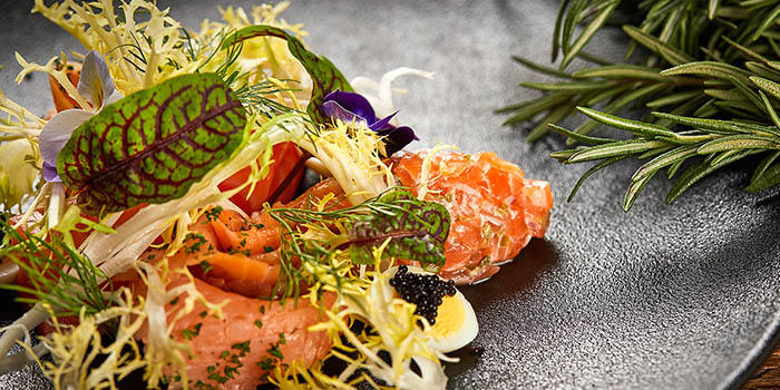 Salmon of of Meuhst French Grill & Wine located in Pudong, Shanghai
