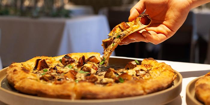 Pizza from Scarpetta