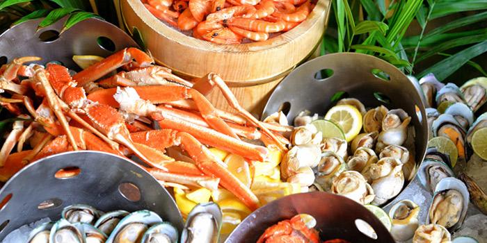 Seafood of VENU Restaurant (Pullman Shanghai Jing An) located in Jing