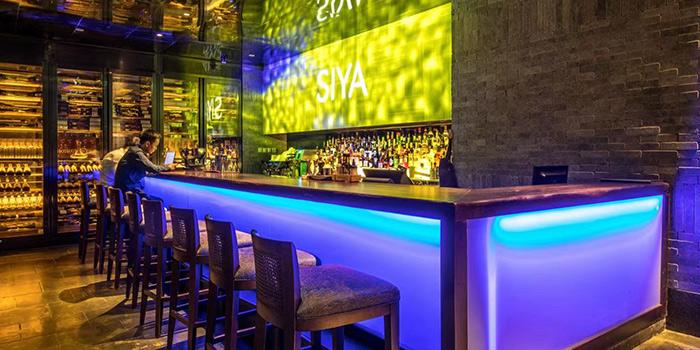 Bar of Siya Cuisine located Hotel Indigo Shanghai On The Bund