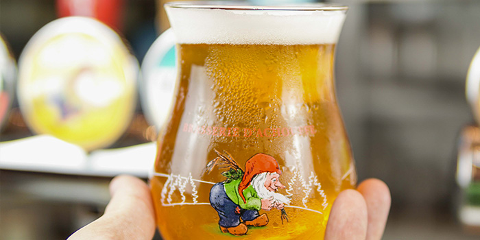 Beer of Cafe des Stagiaires (Julu Lu) located in Luwan, Shanghai