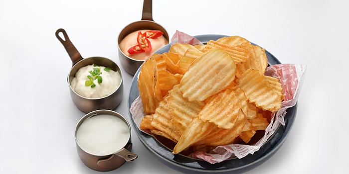 Chips of Original Bohemia Beer Restaurant located in Xuhui, Shanghai