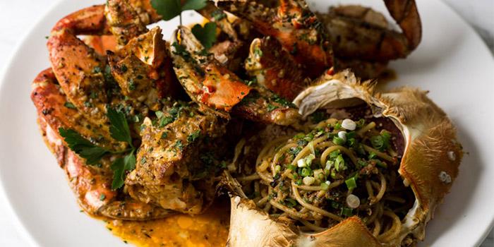 Crab  of Coquille in Huangpu, Shanghai