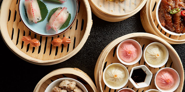 Dim Sum of FULU Modern Cantonese Eatery located in Jing