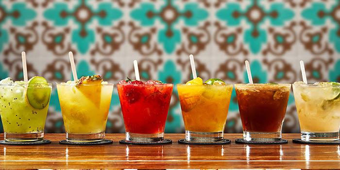 Drinks of Boteco Brazilian Bar and Food located on Julu Lu, Jing