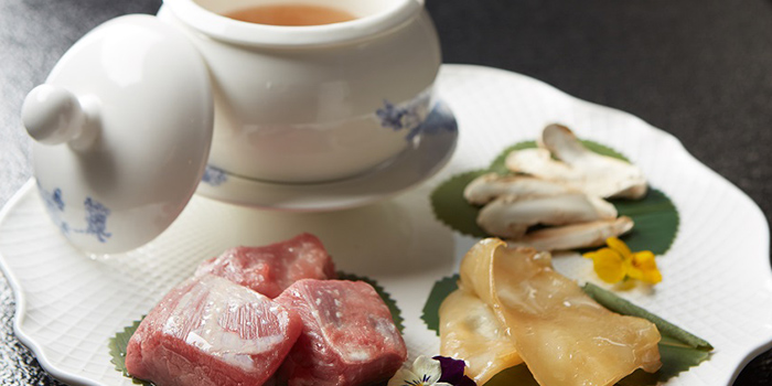 Food of FULU Modern Cantonese Eatery located in Jing